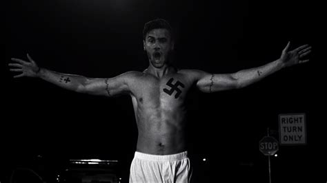 giorgos katidis gives a heil of a celebration after