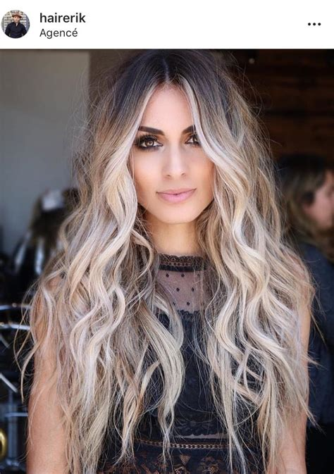 ideas to go blonde long icy balayage