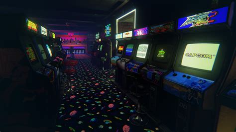 Retro Gaming Bedroom Wallpaper this amazing 80s arcade is the best reality trip yet