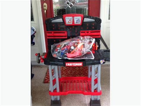 Craftsman Toy Tool Bench With Accessories Victoria City