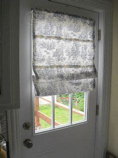 Magnetic Window Blinds For Steel Doors Diy Roman Shade No Sewing Required This Would Be