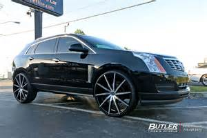 Cadillac Aftermarket Wheels Cadillac Srx Custom Wheels Lexani Css15 26x Et Tire