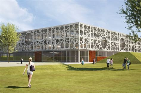 The Technical Faculty at University of Southern Denmark Architect Magazine C. F. Møller