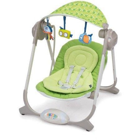 polly swing balancelle chicco polly swing musique vert baby