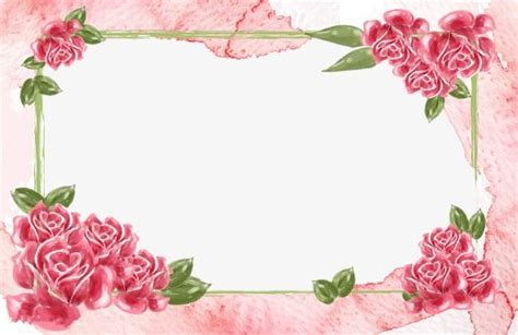 Bonia Bunga Silver moldura de flores lindas flores cor de rosa