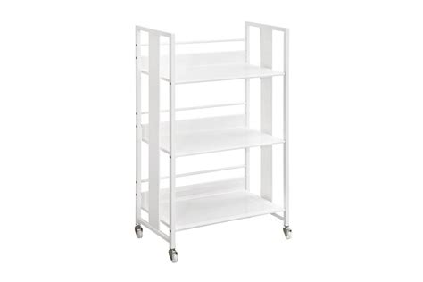 contemporary white bookcase contemporary white metal bookcase 800509