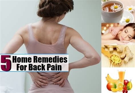 5 beneficial home remedies for back health care a to z