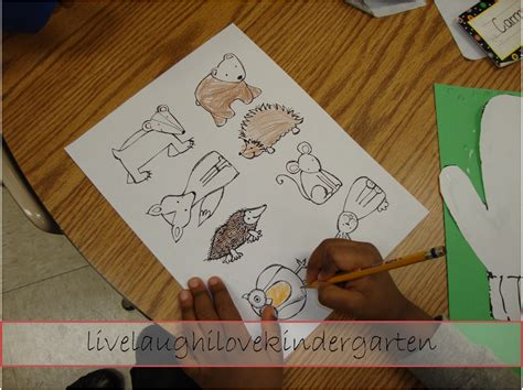 Ordinal Animal Character 07 live laugh i kindergarten the mitten retelling