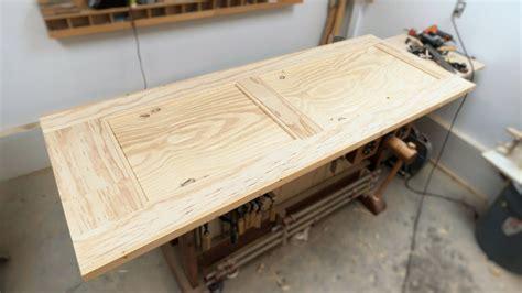 how to build plywood doors how to make a real door from plywood youtube