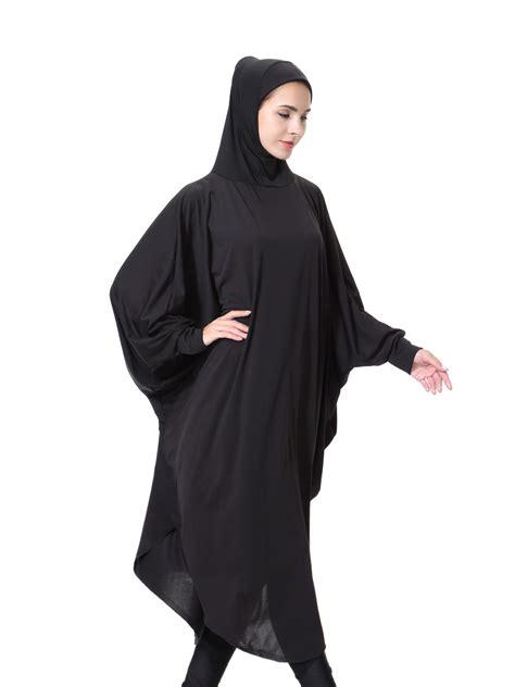 New Jilbab Khimar Saimma muslim islamic khimar jilbab overhead prayer salah with sleeves ebay