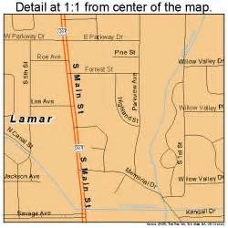lamar colorado map 0843110