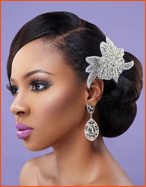Wedding Hair Buns For Black Women | 5 tremendous natural wavy wedding hairstyles for black