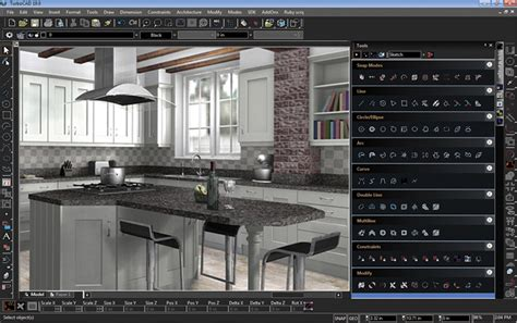 kitchen design with turbocad turbocad deluxe 20 pc amazon co uk electronics