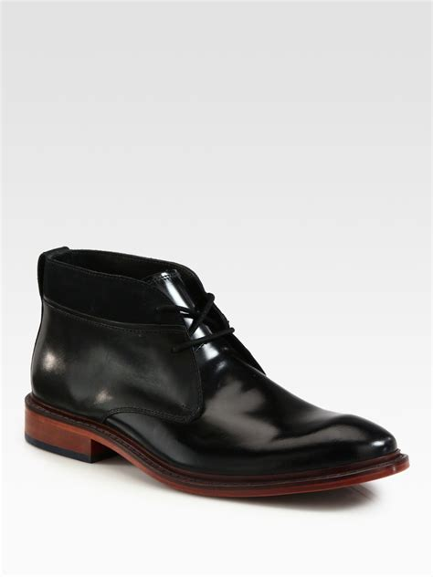 cole haan chukka boots cole haan air colton winter chukka boot in black for