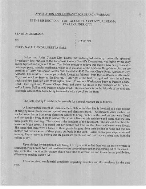 Free Alabama Warrant Search Loretta Nall Tallapoosa County Al Surrenders