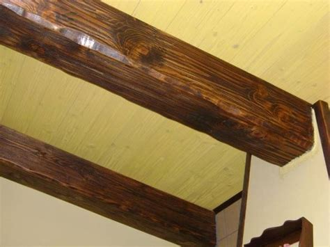 soffitti con travi dimensioni travi in legno scelta travi quali