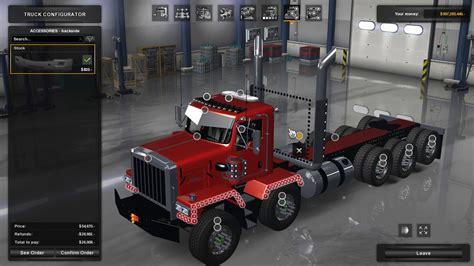 kenworth c500 american truck simulator kenworth c500 by jdm youtube