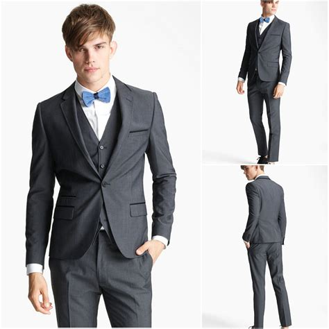 one button notch lapel handmade prom suits