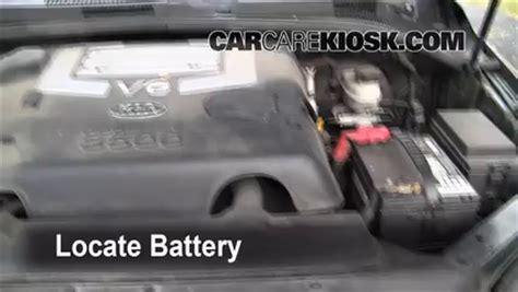 Battery For Kia Sorento Battery Replacement 2003 2009 Kia Sorento 2003 Kia