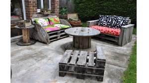20 id 233 es pour fabriquer un salon de jardin avec des palettes