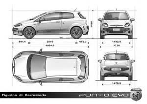 Fiat Punto Dimensions Abarth Punto Evo 2010 Cartype
