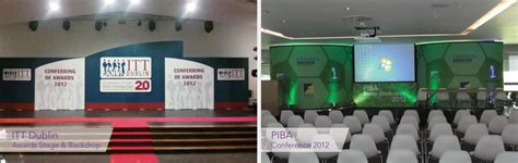 backdrop design for meeting conference backdrops ireland applied signs display