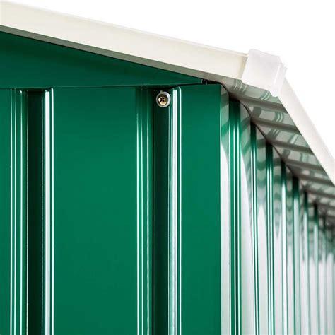 ripostiglio per giardino casetta ripostiglio per utensili da giardino in lamiera di