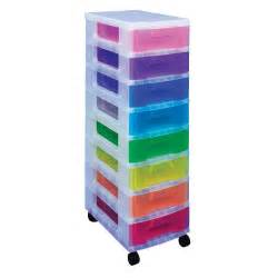 8 x 7 litre really useful drawer unit storage containers