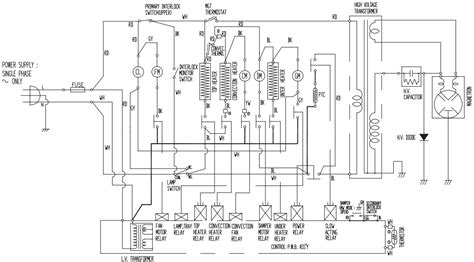 3 phase convection oven wiring diagram convection oven
