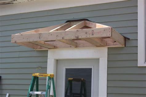 building   door overhang door overhang front