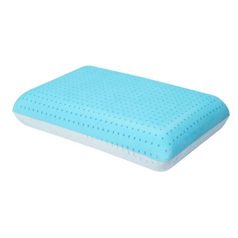 beautyrest thermaphase gel memory foam pillow ebay