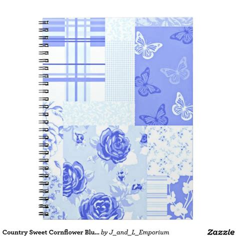 Cornflower Blue Bathroom by Country Sweet Cornflower Blue Notebook Beautiful Other