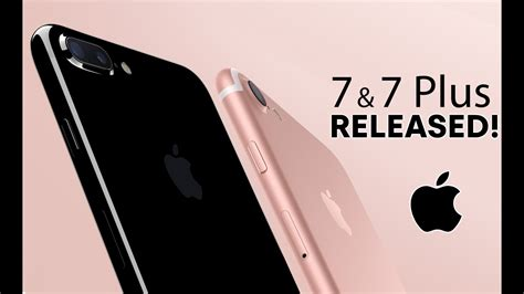 iphone 7 7 plus released everything you need to