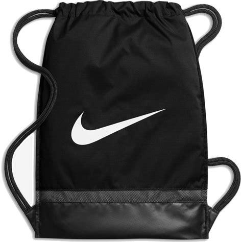 Tas Serut Nike Black List nike brasilia gymsack black white ba5338 010