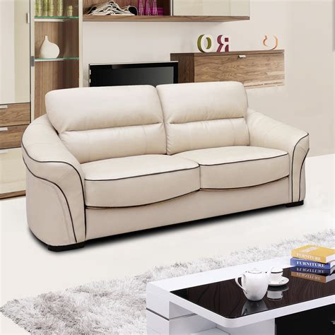 leather cream sofa longdon pale ivory cream leather sofa collection with