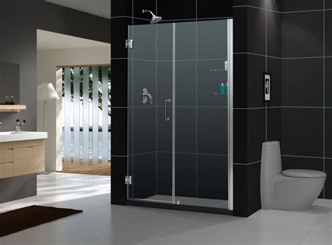 Frameless Glass Door Prices With Dreamline Dl 6112r 04cl Visions Frameless Sliding Shower Door