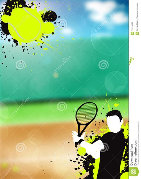 what color is a tennis tennis sport background stock illustration illustration
