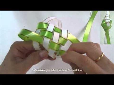 tutorial origami ketupat tutorial how to weave a ketupat casing other craft