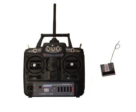 Set Avian Chenel sky flight hobby fms 6 channel 2 4ghz x6 radio system set transmitter reciever for sr71
