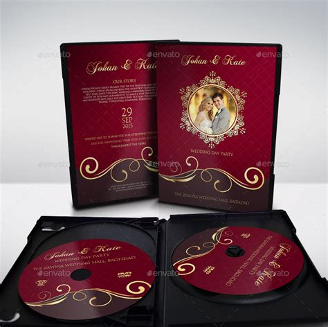 Wedding Dvd by Wedding Dvd Cover And Dvd Label Template Vol 9 By