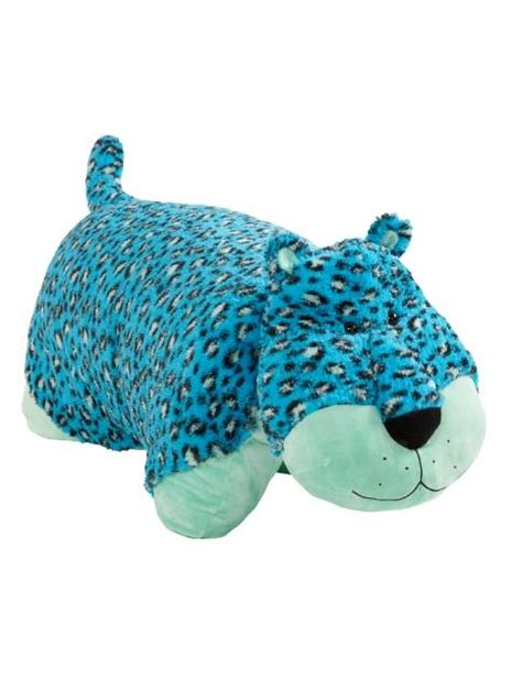 turquoise leopard 36 inch pillow pet from justice
