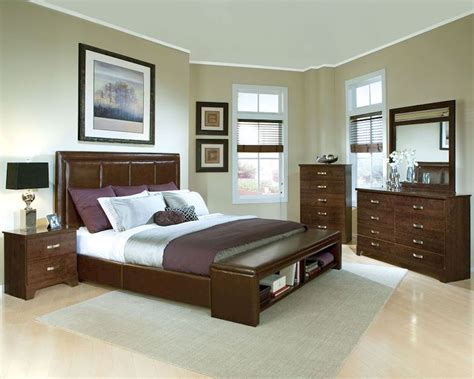 standard furniture bedroom set melrose st 55181set