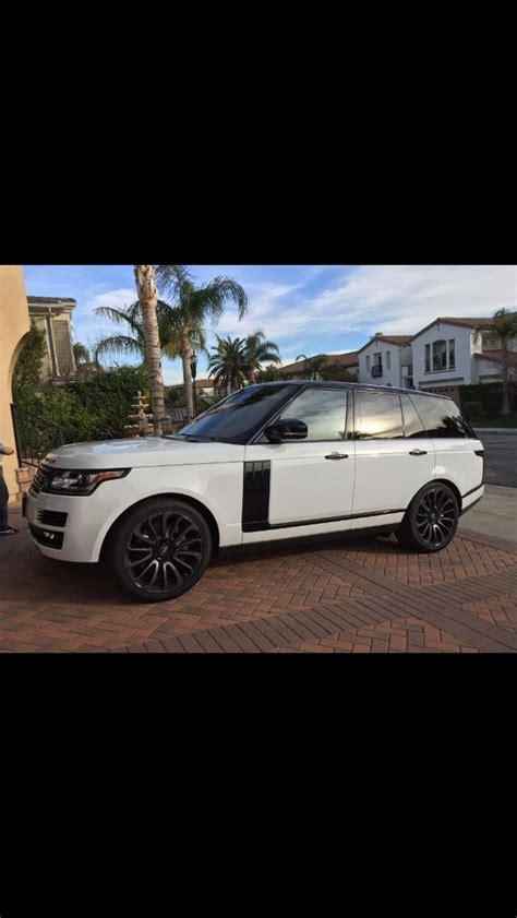 all white range rover best 25 white range rovers ideas on range