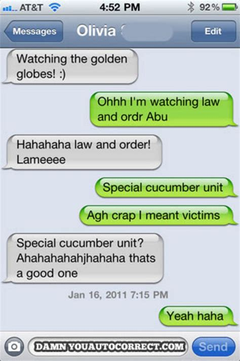 7 Bad Text Situations by Accidentally Autocorrect Makes Texts Go Bad