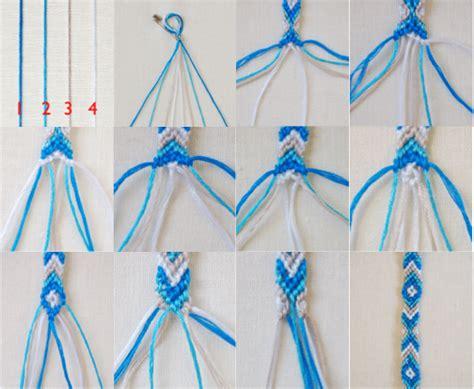 String Designs Step By Step - diy friendship bracelets search nails
