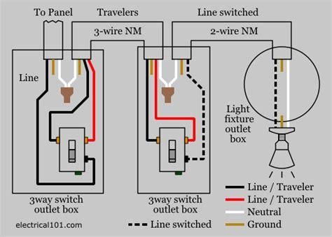 3 way light switch 3 way switch wiring electrical 101