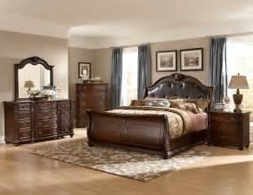 bedroom sets for less homelegance hillcrest manor sleigh bedroom set cherry