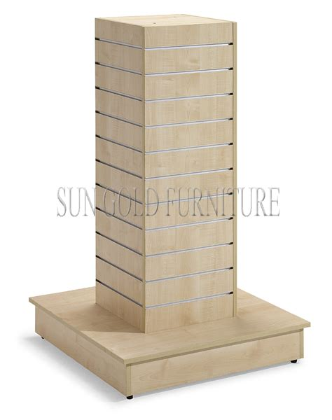 Wooden Clothing Display Rack by Factory Slatwall Display Rack Wooden Clothes Display Rack Sz Wdr006 Buy Clothes Display