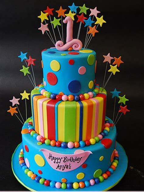 colorful birthday cakes colorful childrens birthday cakes birthday cakes