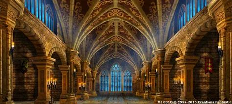 Backdrop ME031D Gothic Castle Interior 2D